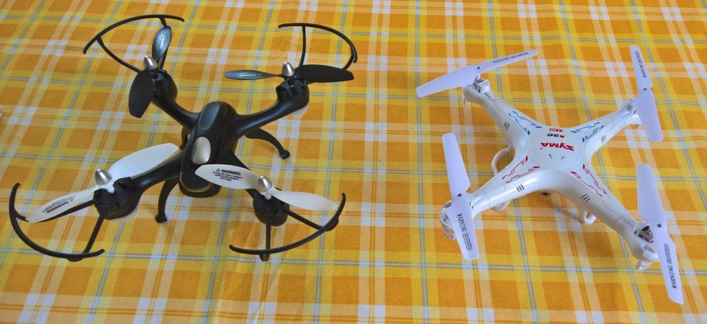 Drohnen Syma X5C und Eachine E33C